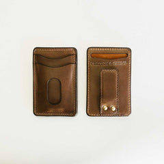 Natural Money Clip Wallet