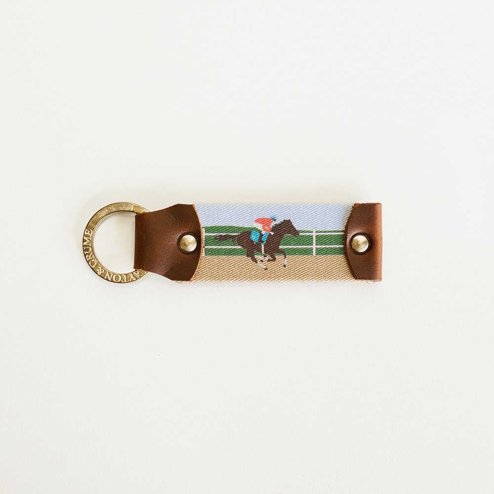 Racetrack Key Fob