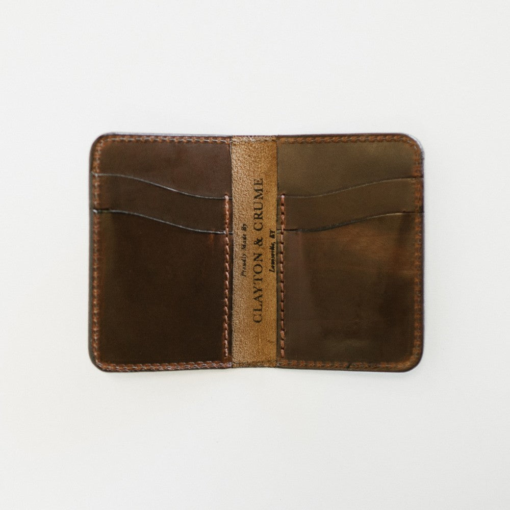 Dark Brown Everyday Bifold Wallet