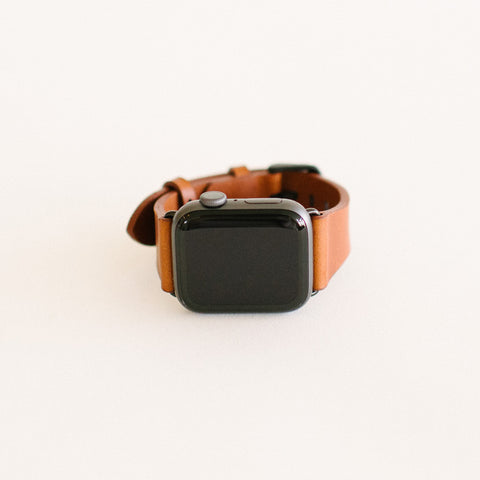 Chestnut Apple Watch Strap 44mm