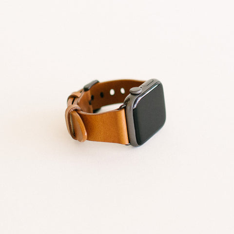 Whiskey Apple Watch Strap 40mm Black