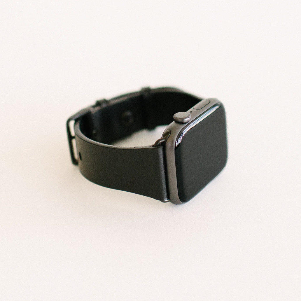 Black Apple Watch Strap 44mm