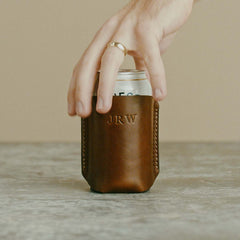 Leather Koozie for Men