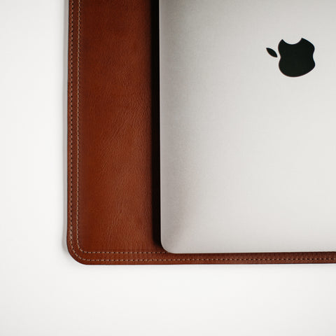 "Tumbled Chestnut 15"" MacBook Sleeve"