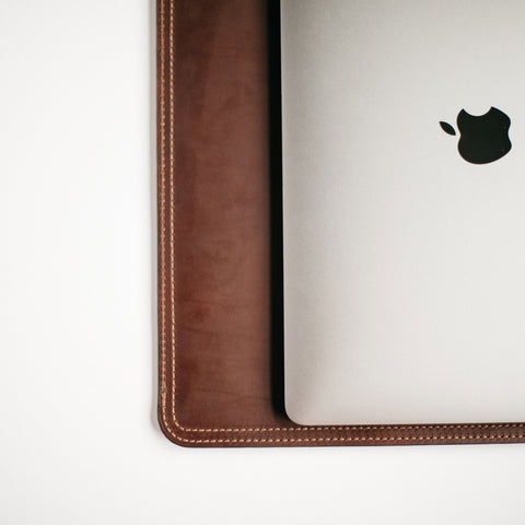 "Dark Brown 15"" MacBook Sleeve"