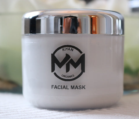 Face Mask - Aloe Vera, Cocoa Butter and Kaolin (100ml)