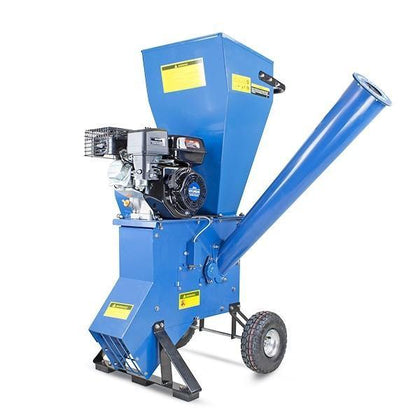Refurbished Hyundai HYCH700 208cc 76mm Petrol 4-Stroke Garden Wood Chipper Shredder Mulcher - HWB Car Parts