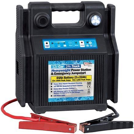 12v/24v Heavyweight Power Station & Emergency Jumpstart