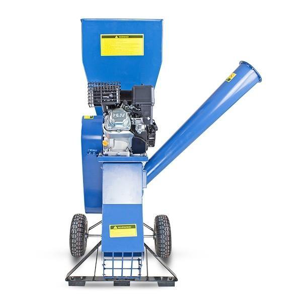 Refurbished Hyundai HYCH700 208cc 76mm Petrol 4-Stroke Garden Wood Chipper Shredder Mulcher