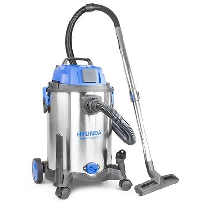 Hyundai HYVI3014 1400W 3 IN 1 Wet & Dry HEPA Filtration Electric Vacuum Cleaner 230v - HWB Car Parts