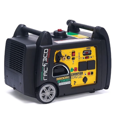 Champion 73001i-DF 3400 Watt / 3.4kw LPG Dual Fuel Inverter Generator - HWB Car Parts