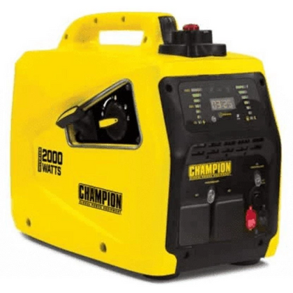 Champion 82001I-E 2000 Watt / 2kw Inverter Petrol Generator - HWB Car Parts