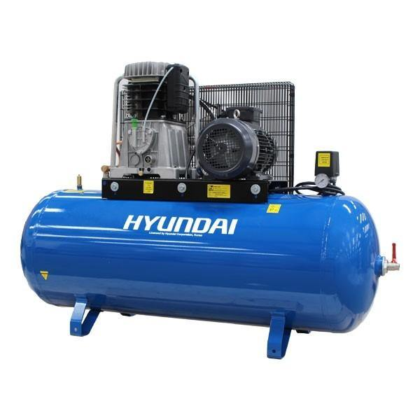 Hyundai HY75270-3 270 Litre 3 Phase HP Air Compressor 5.5kW/7.5 400V