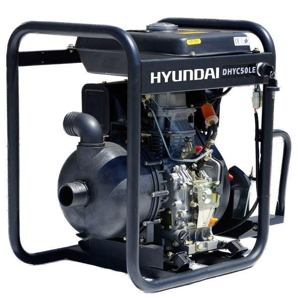 "Hyundai DHYC50LE 50mm 2"" Electric Start Diesel Chemical Water Pump"
