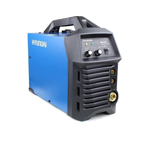 Hyundai HYMIG-200 200Amp MIG/MMA(ARC) Inverter Welder, 230V Single Phase - HWB Car Parts
