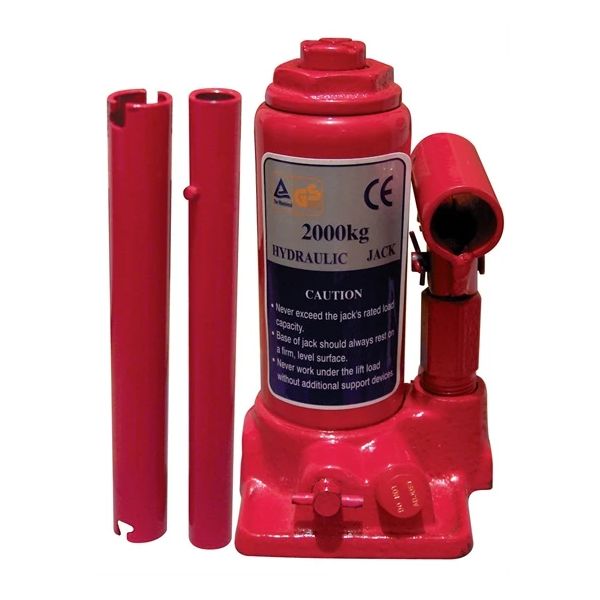 2 Tonne Hydraulic Bottle Jack - HWB Car Parts