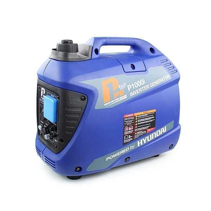 P1 P1000i 1000W Portable Petrol Inverter Suitcase Generator (Powered by Hyundai) - HWB Car Parts