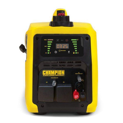 Champion 82001i-E-DF 2000 Watt / 2kw LPG Dual Fuel Inverter Generator - HWB Car Parts
