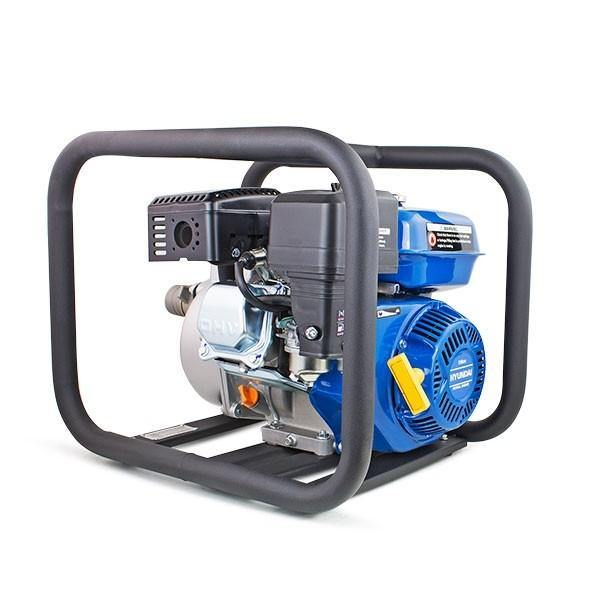 "Hyundai HY50 163cc 5.5hp Professional Petrol Water Pump - 2""/50mm Outlet"