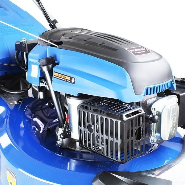 "Hyundai HYM530SPER 21"" Self Propelled Electric Start 173cc Petrol Roller Lawn Mower - HWB Car Parts"