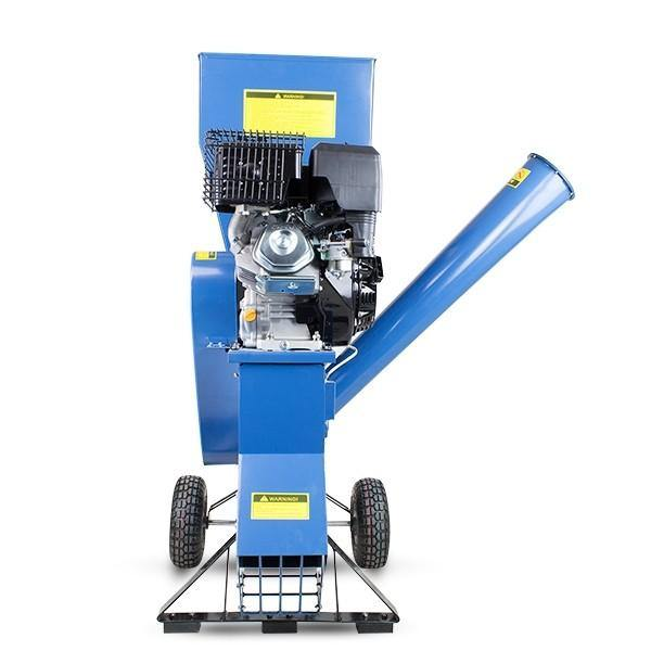 Hyundai HYCH1400 420 cc 102mm Petrol 4-Stroke Garden Wood Chipper Shredder
