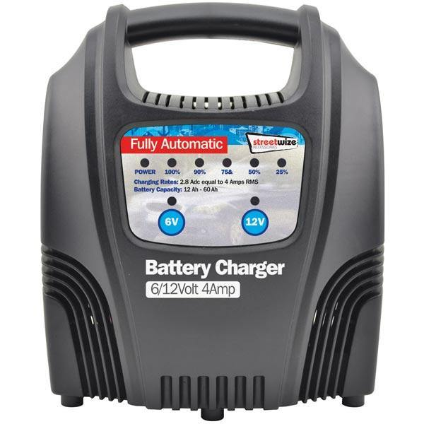 4 Amp Battery Charger - HWB Car Parts