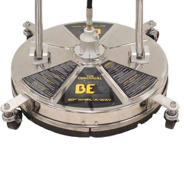 "BE Pressure 85.403.009 Whirlaway 20"" Stainless Steel Flat Surface Cleaner"