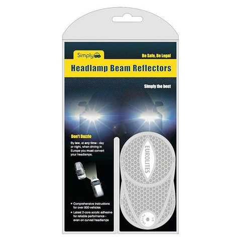 headlight beam reflectors