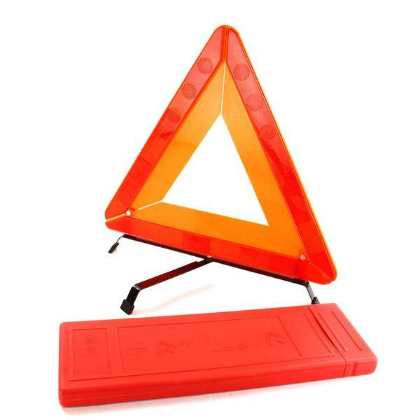 Warning Triangle in Case - HWB Car Parts