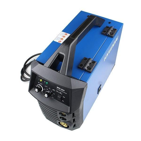 Hyundai HYMIG-200 200Amp MIG/MMA(ARC) Inverter Welder, 230V Single Phase