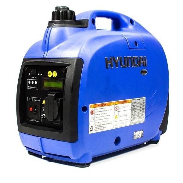 Refurbished Hyundai 1000W Portable Petrol Inverter Generator HY1000Si