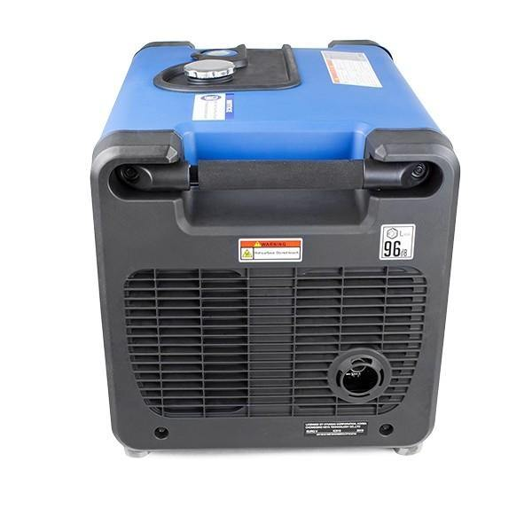 Hyundai HY4500SEI 230V Petrol Driven 4000W 4.0kW 5kVA Portable Silenced Generator - HWB Car Parts