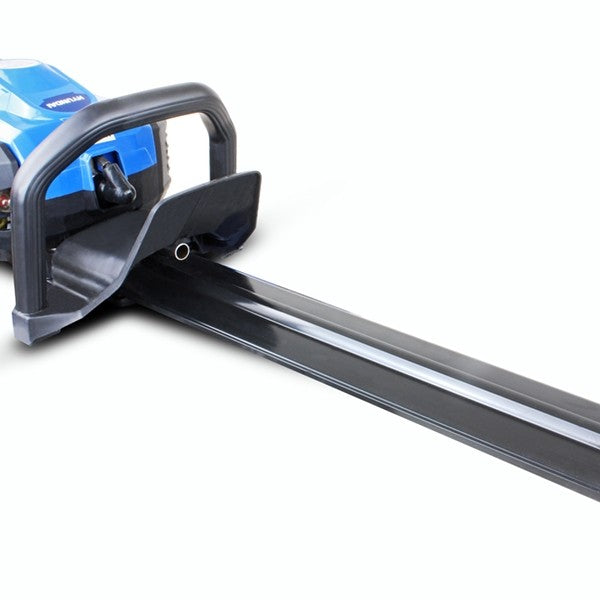 "Hyundai HYHT2600X Petrol Hedge Trimmer/Pruner, 26cc 2-stroke Easy-Start, Lightweight and Anti-Vibration, 24"" (60cm)"