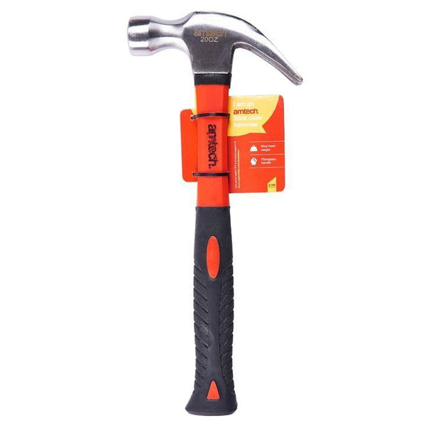 20oz Claw Hammer - Fibreglass Shaft - HWB Car Parts