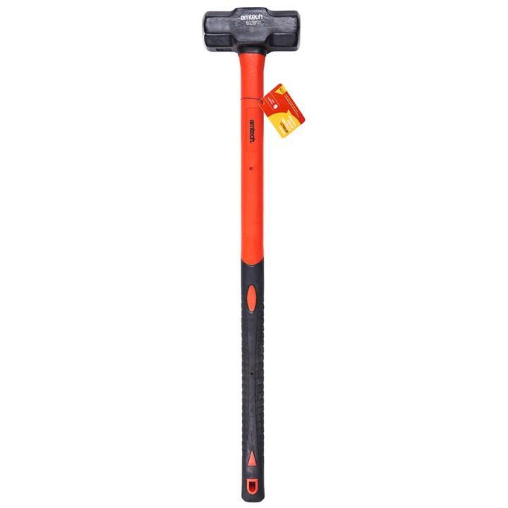 Amtech 2.7kg (6lb) Sledge Hammer - Fibreglass Shaft