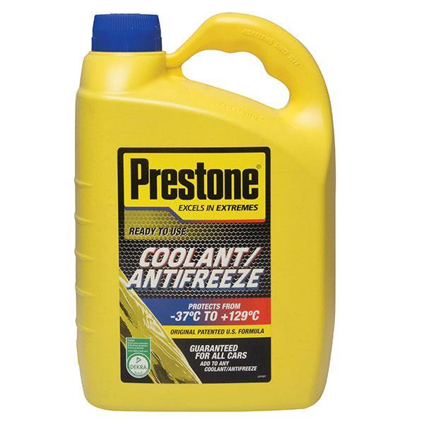 Prestone 4ltr Ready to use Universal Antifreeze/Coolant (Can mix with any colour)