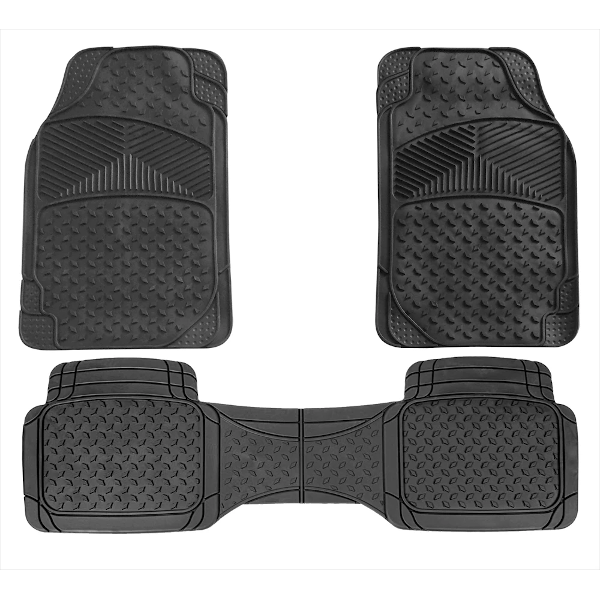 Canberra Rubber Car Mat Set - HWB Car Parts