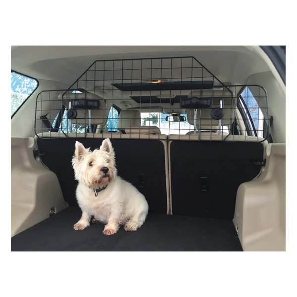 Deluxe Head Rest Mount Mesh Dog Guard - HWB Car Parts