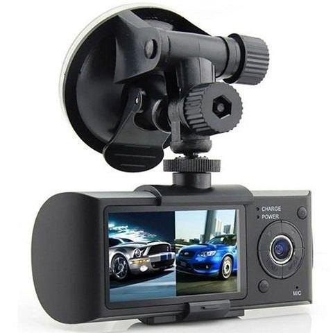 "2.7"" Dual Camera Split Screen Dash Cam"