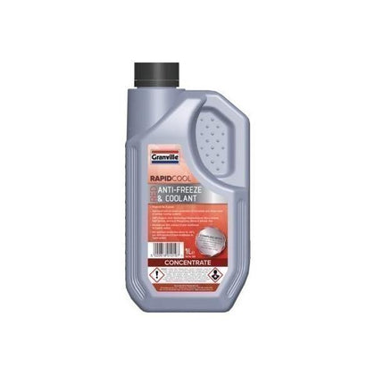 Granville Red (Concentrate) Antifreeze/Coolant 1Ltr - HWB Car Parts