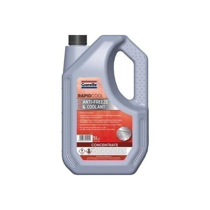 Granville Red (Concentrate) Antifreeze/Coolant 5Ltr - HWB Car Parts