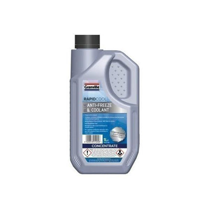 Granville Blue Antifreeze/Coolant 1Ltr - HWB Car Parts