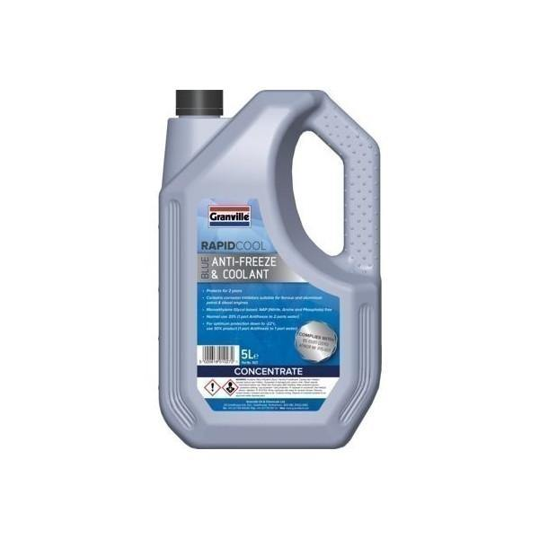 Granville Blue Antifreeze/Coolant 5Ltr