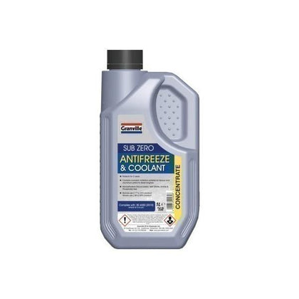 Granville Blue Ready Mixed Antifreeze/Coolant 1Ltr - HWB Car Parts