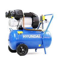Hyundai HY3050V 14CFM 3HP, 50 Litre V-Twin Air Compressor Direct Drive - HWB Car Parts