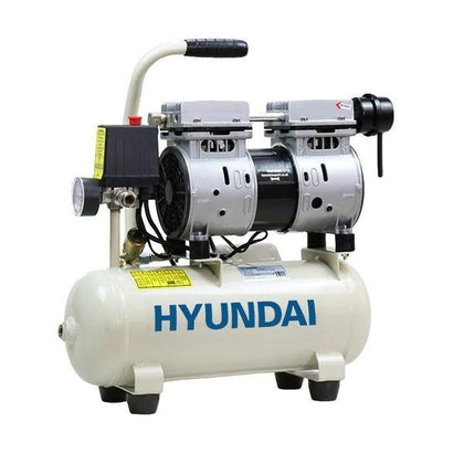 Hyundai HY5508 4CFM, 550w, 0.75HP, 8 Litre Oil Free Direct Drive Silenced Air Compressor - HWB Car Parts