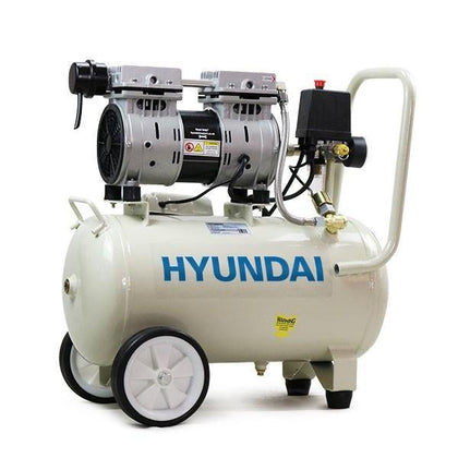 Hyundai HY7524 5.2CFM, 1HP, 24 Litre Oil Free Direct Drive Silenced Air Compressor - HWB Car Parts