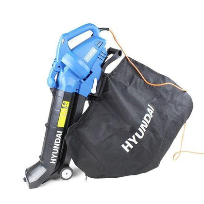 Hyundai HYBV3000E 3-in-1 Electric Garden Vacuum, Leaf Blower and Mulcher - HWB Car Parts