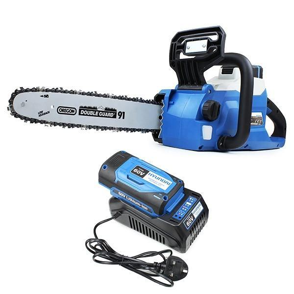 "Hyundai HYC60LI 12"" 60v Lithium-ion Battery Chainsaw - HWB Car Parts"