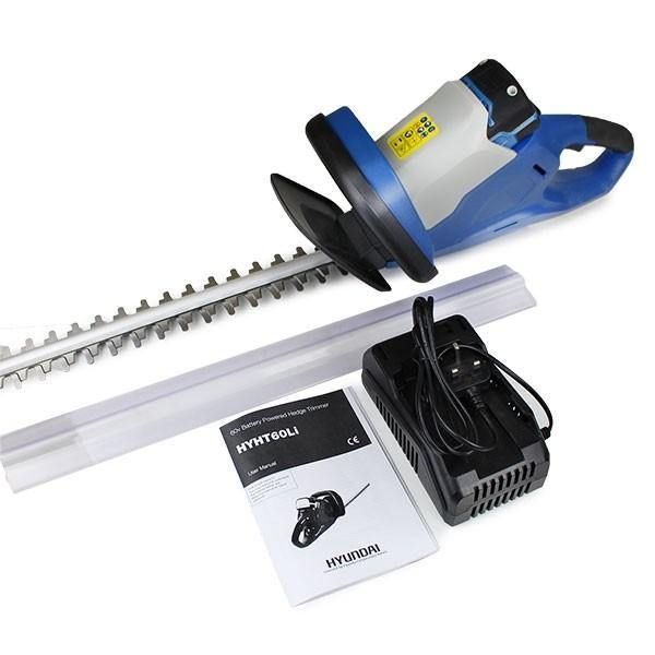 Hyundai HYHT60LI 60v Lithium-ion Battery Hedge Trimmer - HWB Car Parts
